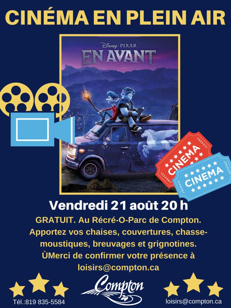 Cinéma en plein air @ Récré-O-Parc