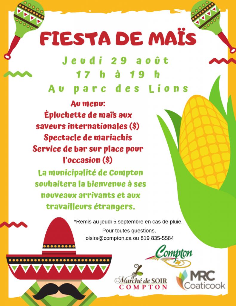 Fiesta de maïs @ Parc des Lions